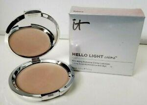 it Cosmetics HELLO LIGHT Anti-Age Radiance Creme Luminizer 0.23 oz RADIANCE BOX