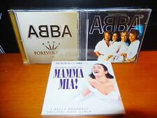 ABBA Mamma Mia Musical Original Cast + Name Of The Game + Forever Gold MINT 3 CD