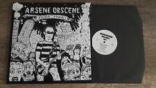 "ARSENE OBSCENE - More Money - LP 12"" 45 rpm - Garage Punk 10 track"