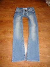 ONLY Mod. SAMMY Low Damen Jeans Sommerjeans Gr. W28 L34 Chiara Princess HELLBLAU