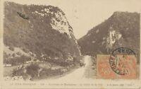 FRANKREICH 1918 Allegorie Typ Blanc 3 C (2 x) selt. MeF a. AK n. BOMBAY, Indien