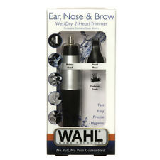 Wahl Ear Nose & Brow Groomer Wet & Dry 2 Head Trimmer No Pull No Pain 5560-2101
