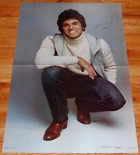 ERIK ESTRADA Giant Poster 1980 Galaxy Publishing Ponch CHiPs Beefcake Hot Guy
