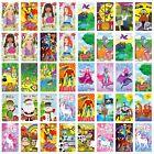 12 Pencils & 12 Notepads - Unicorn - Princess - Dinosaurs Kids Party Bag Filler