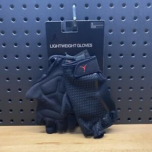 Nike Air Jordan Lightweight Gloves Athletic Fitness Workout Gym Men's Size Small