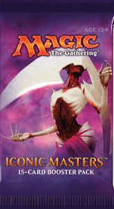 Magic the Gathering ICONIC MASTERS Booster Pack