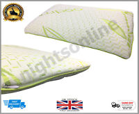 Bamboo Memory Foam Cot Pillow Nursery Junior Baby Toddler Kids Bedding