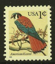 US Scott# 2477 , individual 1995 American Kestrel 1c VF Mnh