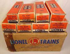 LIONEL POSTWAR SET #1515WS--W/#2065 LOCO-2046W TENDER & FREIGHTS-EX IN OB'S!