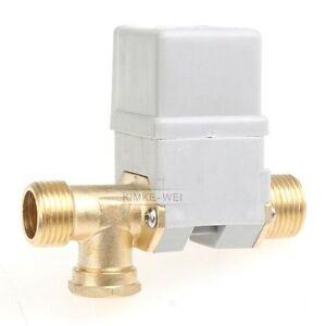 """Elektro Magnetventil Ventil 12V 1/2"""" f. Wasser Luft Gas"""