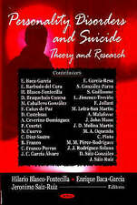 Personality Disorders and Suicide: Theory and Research by Enrique...