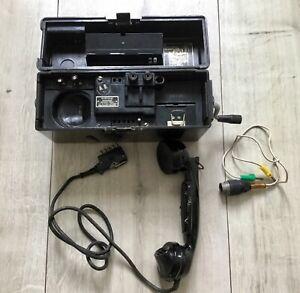 Feldtelefon Feldfernsprecher RFT Feldapparat