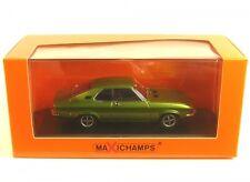 1 43 Maxichamps Opel Manta a 1970 Greenmetallic