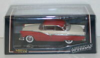 VITESSE 1/43 36273 - 1956 FORD FAIRLANE - FIESTA RED / COLONIAL WHITE