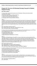 Medical Surgical Nursing 9th Edition-ignatavicius TEST BANK
