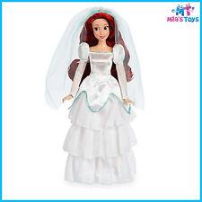 "Disney Little Mermaid's Ariel Wedding Classic 11 1/2"" Doll brand new in box"