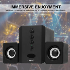 SADA USB Wired Bluetooth Computer Speakers System Mini AUX Desktop PC Subwoofer