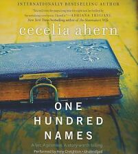 One Hundred Names : A Novel by Cecelia Ahern (2014, CD, Unabridged)