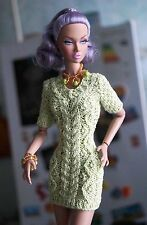 Dress jewelry clothes for Fashion Royalty, Poppy Parker, Barbie, FR2, dolls 12""