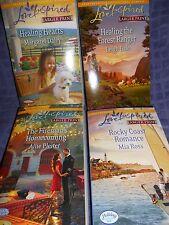 Harlequin Love Inspired series 4 pack new paperback romances set 926