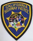 TOPPA PATCH AMERICANA CALIFORNIA HIGHWAY PATROL EUREKA USA U.S.A. TERMO ADESIVO