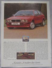 1989 Maserati Original advert