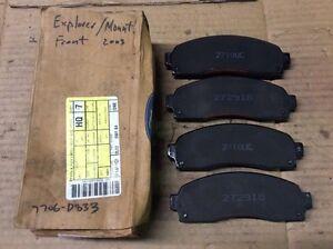 New Factory OEM Ford Motorcraft Disc Brake Pad Pads Front 2L2Z-2001-BA