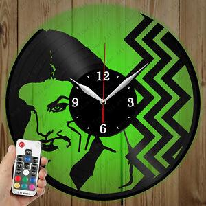 LED Vinyl Clock Twin Peaks LED Wall Art Decor Clock Original Gift 2751