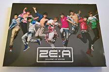 ZE:A ZEA Children of Empire Album Japan Press CD + DVD  K-POP