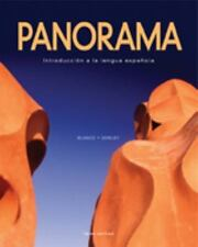Panorama - Introduccion a la lengua espanola: Standard Package-ExLibrary