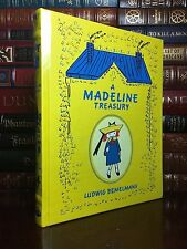 A Madeline Treasury by Ludwig Belmelmans New Sealed Illustrated Leather Bound