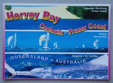 Hervey Bay Cooloola - Fraser Coast Lakeside Sandblow Tin Can Bay Postcard (P225)