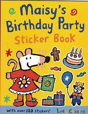 Maisy's birthday party sticker activity book par lucy cousins (livre de poche) neuf