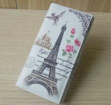 Paris tower France Women's wallet purse lady burse notecase billfold handbags