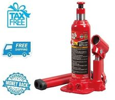 New Torin Red Hydraulic Bottle Jack 2 Ton Capacity Car Vehicle Automobile Lift