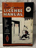 Vintage 1956 ARRL Radio Amateur's License Manual