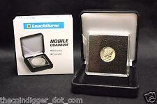 18mm Coin Display 2x2 Capsule + NOBILE Q50 Box Case Lighthouse QUADRUM INTERCEPT