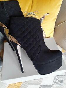 Carvela  kurt Geiger High Platform Ankle Boots Size 5
