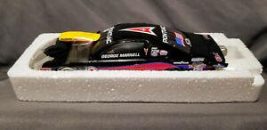 George Marnell 2002 Matco Tools Pontiac 1/24 Racing Champions NHRA Pro Stock