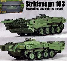 Swedish Stridsvagn STRV 103 unconventional MBT S-Tank 1/72 no diecast Easy model