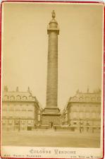 Maison Martinet, France, Paris, Colonne Vendôme, ca.1880, vintage albumen print
