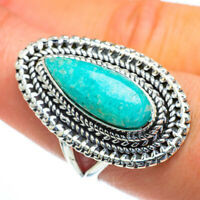 Large Amazonite 925 Sterling Silver Ring Size 9 Ana Co Jewelry R44244F