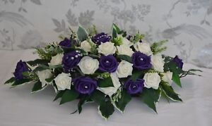 "Pretty Table Arrangement 24""  Artificial Wedding flowers Reception"
