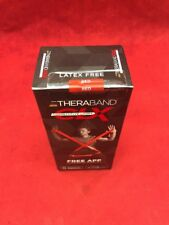 NEW THERABAND CLX Individual Pre-Cut 5' Resistance Band Consecutive Loops Red