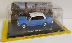 Taxi Collection 1/43 lada Vaz 2101 Addis Ababa 1980 Diecast