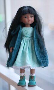 """Aquamarine"" Set of clothes for 13,5 inch dolls"