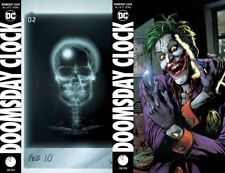 Doomsday Clock #5 AB  PREORDER SHIPS NOW DCU Watchmen Cover Variant Set
