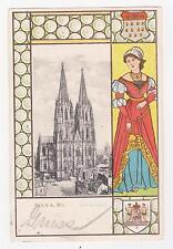 Koln,Germany,Dom,Westseite,Embossed,North Rhine-Westphalia,Used,1903