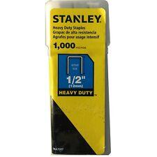 TRA708T Stanley 1'2'' (12mm) 1000 pcs Heavy Duty Staples 076174054293
