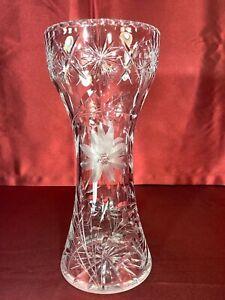 Brilliant Cut Glass 5 78 Tall Vase